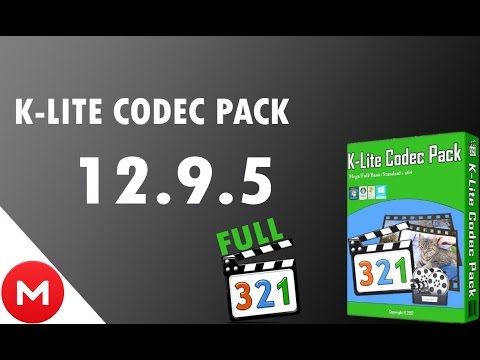 Descargar E Instalar K-Lite Codec Pack 12.9.5 FULL - SIN VIRUS