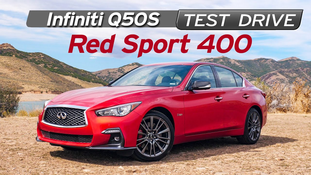 Infiniti Q50S Red Sport400 Review - Sleeper - Test Drive | Everyday Driver