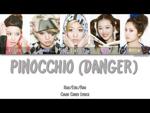 F(X) - PINOCCHIO (DANGER) (피노키오) [Color Coded Han|Rom|Eng]