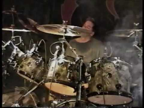 Ted Kirkpatrick drum solo - Tourniquet live in Orange, CA, 1998