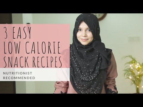 3 Easy Low-Calorie Snack Recipes | Nutritionist Recommended | Make Ahead Healthy Snacks