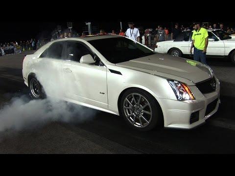 4 DOOR CADILLAC No Prep RACING - Kansas Speedway
