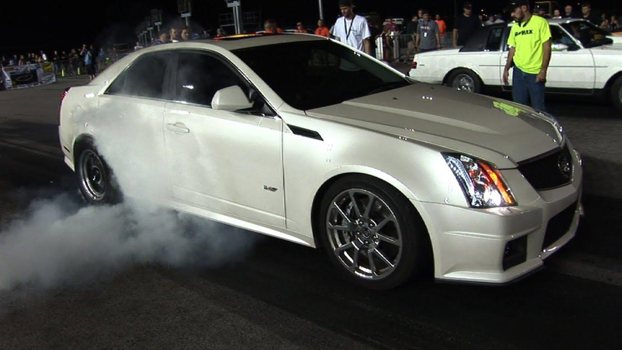 Door Cadillac No Prep Racing Kansas Speedway Youtube