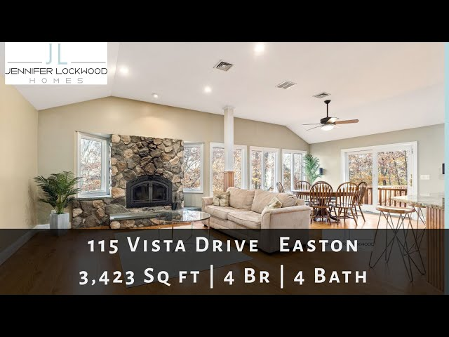 Easton CT Home for Sale: 115 Vista Dr