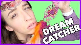 DIY Coachella Dream Catcher!