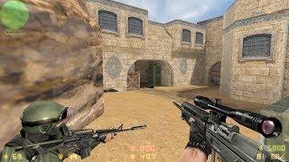 Counter Strike: Condition Zero Gameplay PC - Dust II (Expert Level)
