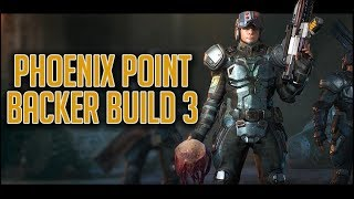 Phoenix Point Backer Build 3 Gameplay - Part 1 - Strategy Layer (Geoscape) Overview