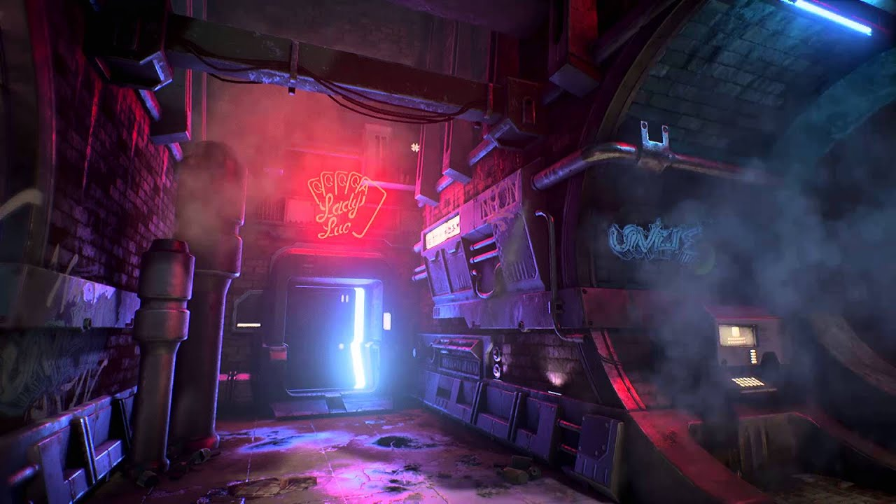 Anime Dark Angel Wallpaper Cyberpunk Alley 3d Environment Art Youtube