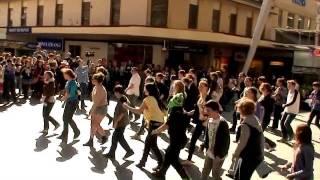 Brisbane Gang Show 2011 - Flash Mob Queen Street Mall
