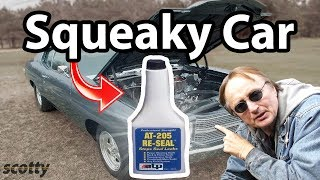 How To Fix Squeaks In Your Car
