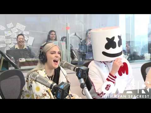 Marshmello & Anne - Marie Talk About Their New Song 'FRIENDS'  | On Air with Ryan Seacrest