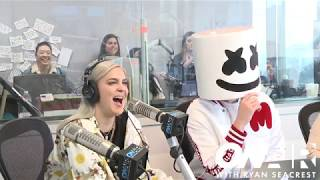 Marshmello & Anne-Marie Talk About Their New Song 'FRIENDS'  | On Air with Ryan Seacrest Video