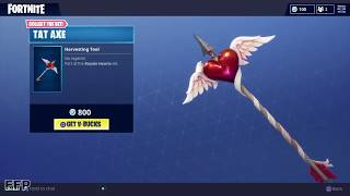 NEW ITEM SHOP UPDATE EP.3! - (Fortnite Battle Royale Love Ranger Skin, Tat Axe, Star Power Emote)
