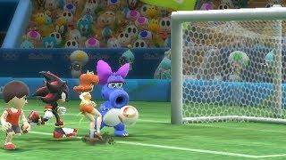 Mario and Sonic at The Rio 2016 Olympic Games #Football -Extra Hard -Team Yoshi vs Team Daisy