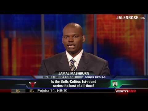 Bulls-Celtics Greatest NBA Playoff Series Ever? Jalen Rose and Jamal Mashburn Discuss