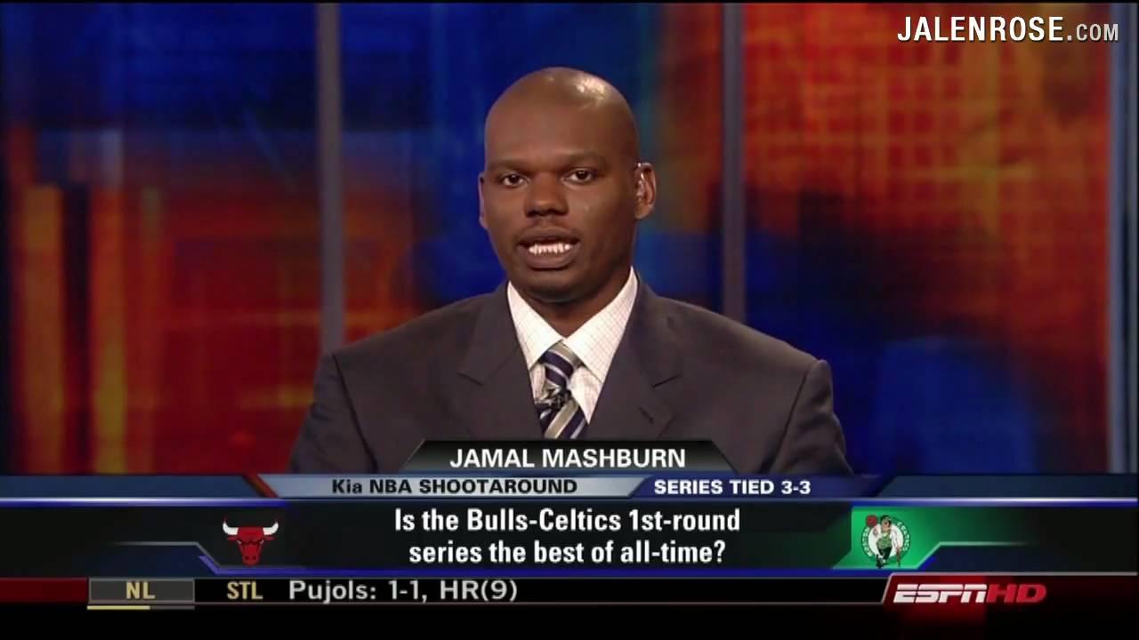 Bulls Celtics Greatest NBA Playoff Series Ever Jalen Rose and