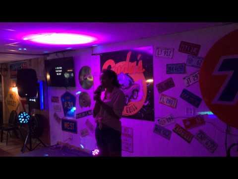 """""""Girl Crush"""" Karaoke at Cudas in Antioch IL"""