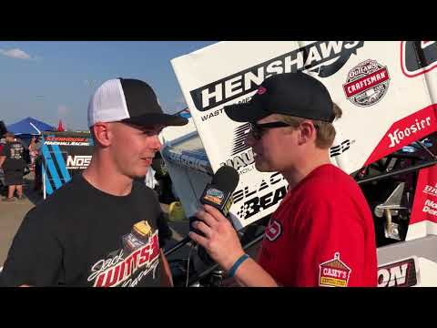 Knoxville Nationals: Tom Harris from the UK!