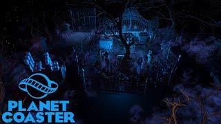 Let's Play Planet Coaster Episode 28 - Haunted Dark Ride Interior