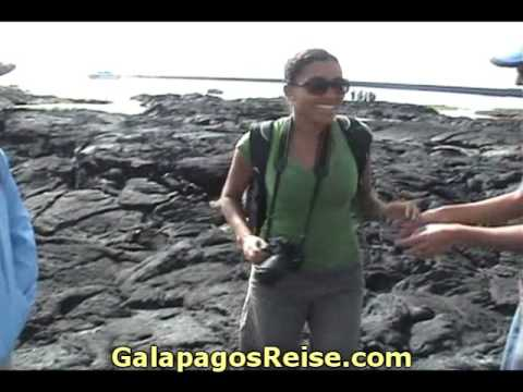 Galapagos islands cruise - Tourists