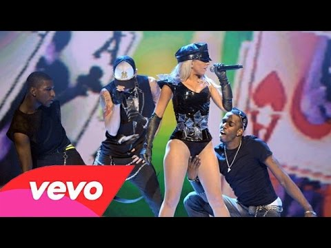 Lady Gaga Poker Face Live At The Dome 49 Youtube