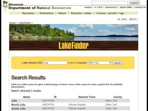 Lakefinder