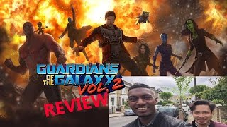 Guardians of the Galaxy Vol. 2 VLOG & Movie Review From A DC & MARVEL FAN By Stageflix