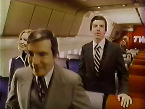 1978 Trans World Airlines TV commercial