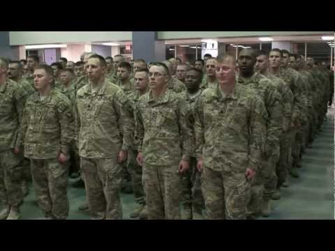 Welcome Home  Ceremony for the 2nd Brigade and 716th MP Battalion