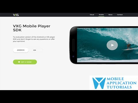 Video streaming using VXG Mobile Player SDK on Android Studio
