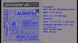 [Full Album] 빅뱅 (Big Bang)- Always Mini Album
