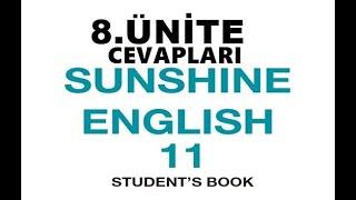11. Sınıf İngilizce Sunshine Ders Kitabı Cevapları 8.Ünite