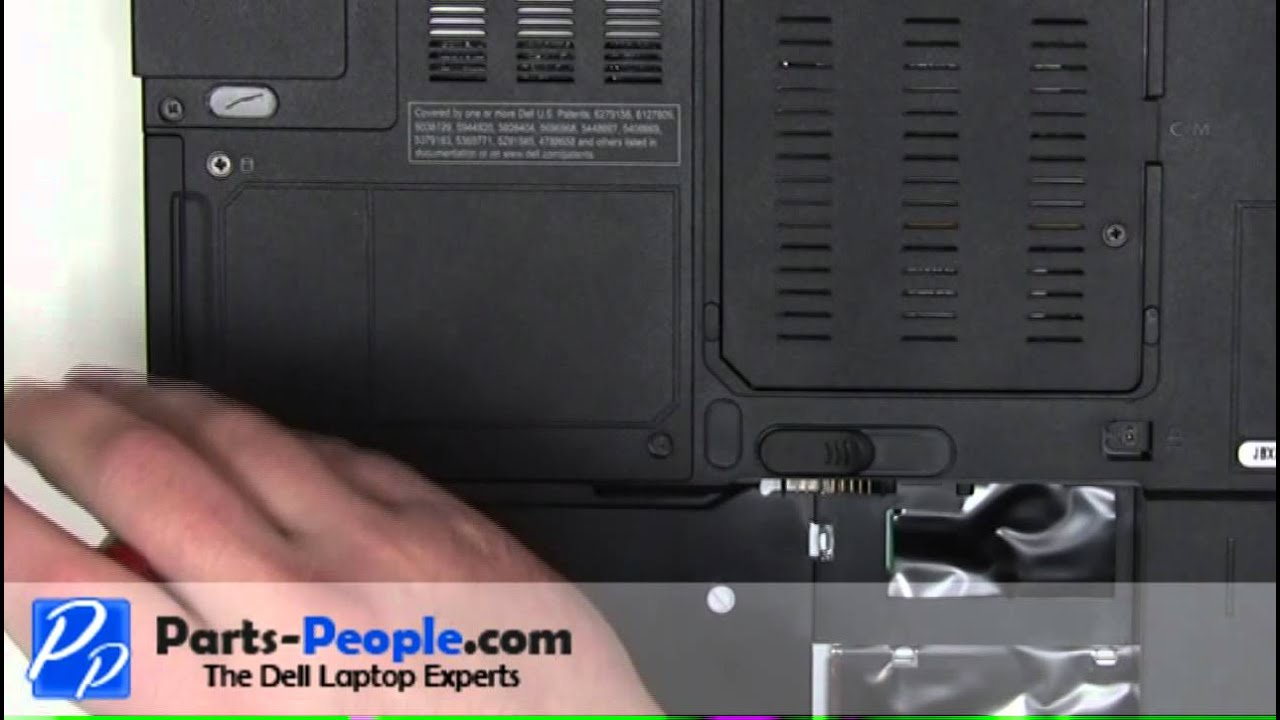 Dell Inspiron 6400/E1505 | Hard Drive Replacement | How-To-Tutorial - YouTube