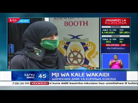 Mji wa kale wakaidi : Wakazi wa mji wa Old Town Mombasa wakaidi kipimwa virusi vya Korona