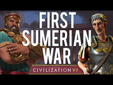 Civilization VI: Trajan - #4 - The First Sumerian War