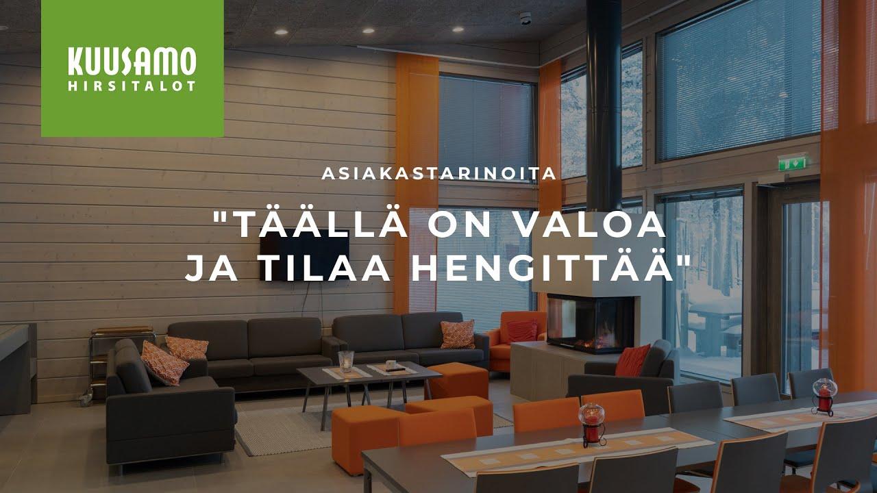 Nuoriso- ja luontomatkailukeskus Oivangin kokemuksia Kuusamo Hirsitaloista