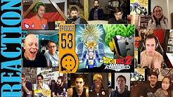 DragonBall Z Abridged: Episode 53 - TeamFourStar (TFS) REACTIONS MASHUP