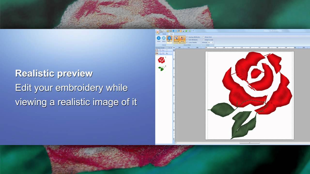 Brother Embroidery Software Pe Design Plus Pe Design Next English Youtube