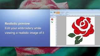 Brother Embroidery Software PE-Design Plus, PE-Design Next English