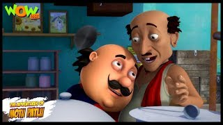 Motu Patlu New Episode | Hindi Cartoons For Kids | Jaadu Ki Jhappi | Wow Kidz