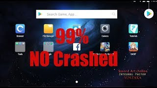 SAOIF Avoid Crashes on Nox Emulator 99%