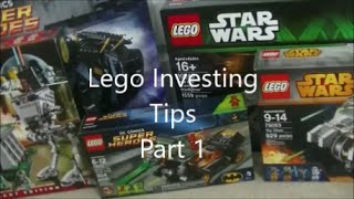 Lego Investing Tips Part 1
