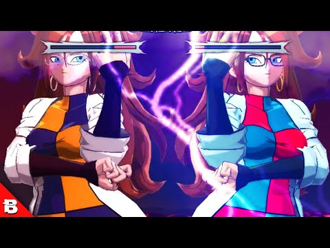Android 21, But She Steps On Everyone