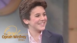 Fred Savage Asks Oprah If She'll Go to the Dance With Him | The Oprah Winfrey Show | OWN