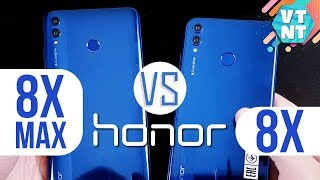 Huawei Honor 8x vs Honor 8X Max Сравнение. Какой купить?