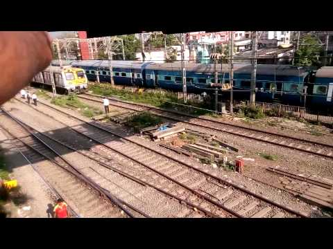 12139 CST - NGP SEWAGRAM DEPARTS THANE from YouTube · Duration:  1 minutes 50 seconds