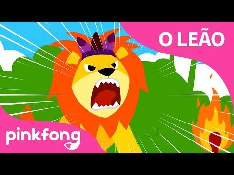 [Português] O Leão | Canções De Animais | Pinkfong Canções Para Crianças