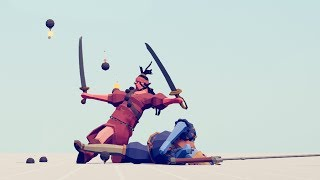 PIRATE QUEEN vs EVERY UNIT - Totally Accurate Battle Simulator TABS
