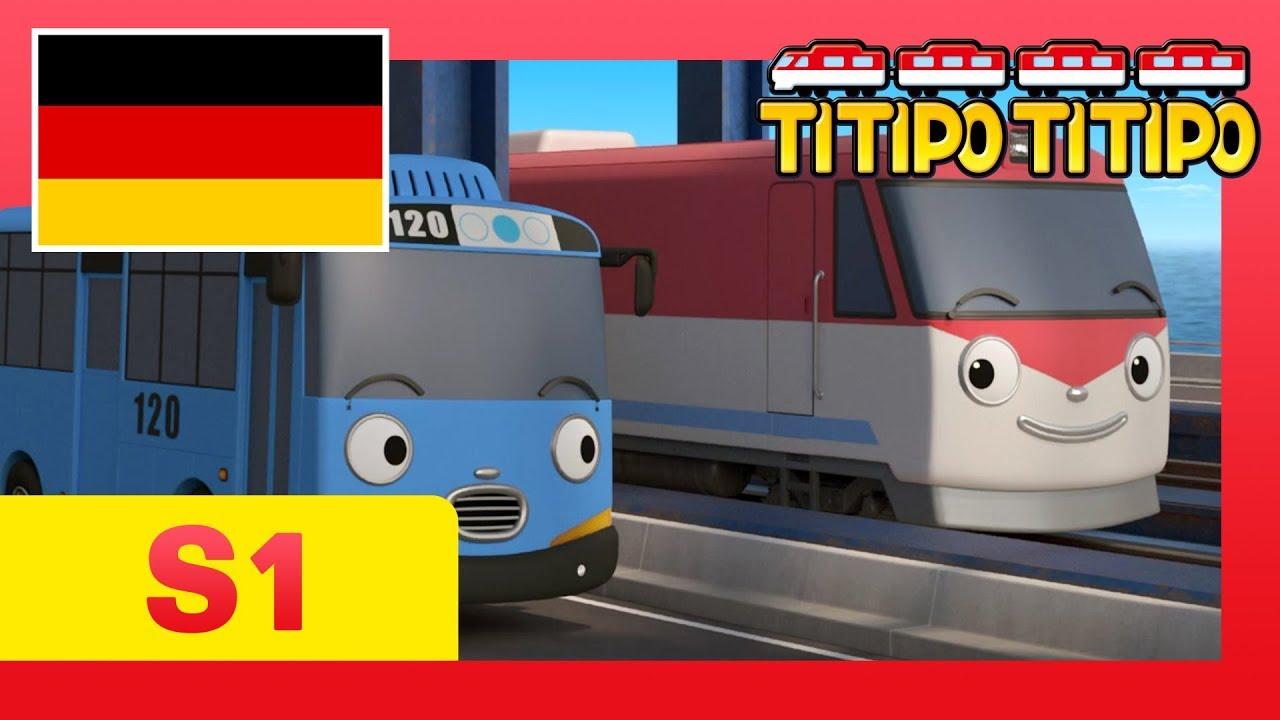 Titipo deutsch S1 F2 Nächster Halt Groß Töffingen! l Kinderfilm l Titipo Der Kleine Zug