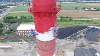 Remont komina Cukrownia Świdnica